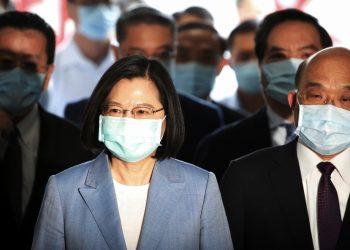 Lãnh đạo Đài Loan Thái Anh Văn - Ảnh: REUTERS
